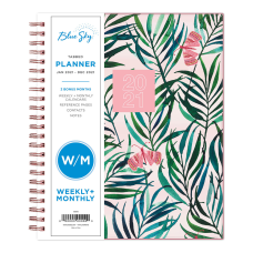 Blue Sky WeeklyMonthly Planner 7 x