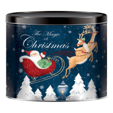 Signature Holiday Popcorn Tin 24 Oz