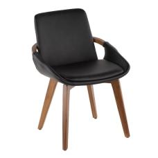 LumiSource Cosmo Chair WalnutBlack