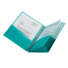 Office Depot Brand 8 Pocket Poly