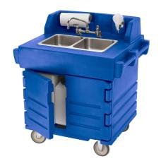 Cambro CamKiosk Hand Sink Cart With
