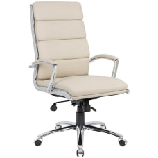 Boss Office Products Ergonomic CaressoftPlus High