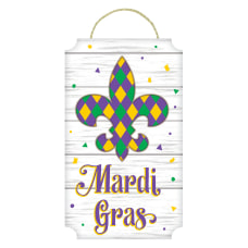 Amscan Mardi Gras Fleur de Lis