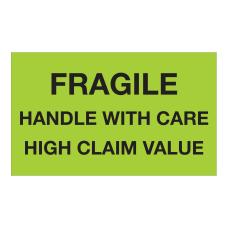 Tape Logic Safety Labels Fragile Handle