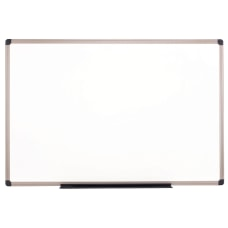 Realspace Porcelain Magnetic Dry Erase Whiteboard