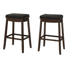 Monarch Specialties Aspen Faux Leather Barstools