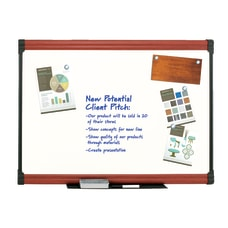 FORAY Porcelain Magnetic Dry Erase Whiteboard