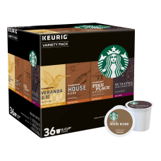 Starbucks Single Serve K Cup Variety