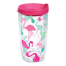 Tervis Flamingo Tumbler With Lid 16