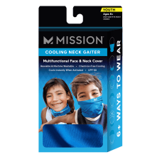 Mission Cooling Neck Gaiter Youth One