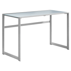 Monarch Specialties Computer Desk With Tempered