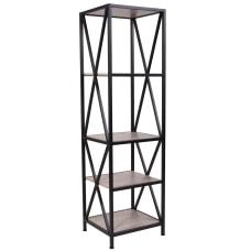 Flash Furniture 61 H 4 Shelf
