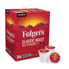 Folgers Coffee Single Serve K Cup