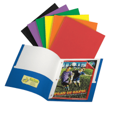 Office Depot 3 Prong Portfolio With