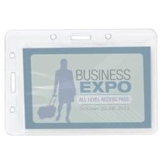 Office Depot Plastic Convertible Badge Holders