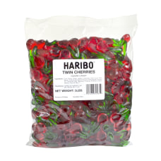 Haribo Gummies Twin Cherries 5 Lb