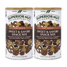 Superior Nut Sweet Savory Snack Mix