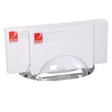 Swingline nbspStratus Acrylic Letter Sorter Clear