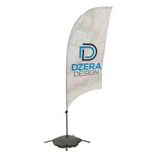 Custom Full Color Razor Sail Sign