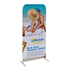 Custom Full Color Double Sided Stretch