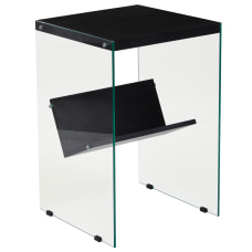 Flash Furniture End Table With Shelf
