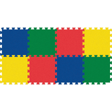 Pacon WonderFoam Color Tiles 12 Length