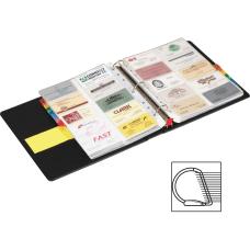 Cardinal EasyOpen Card File Binder 350