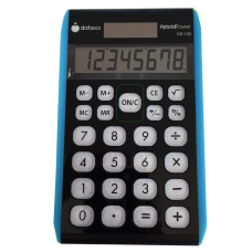 Datexx Hybrid Desktop Calculators Pack Of
