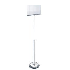 Azar Displays Acrylic Vertical Sign Holder