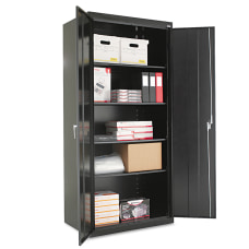 Alera Storage Cabinet Black