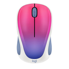 Logitech Design Collection Wireless Mouse Blue