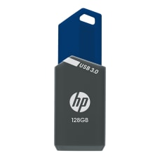 HP x900w USB 30 Flash Drive128GBGrayBlue