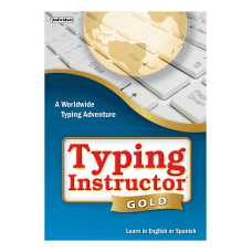 Individual Software Typing Instructor Gold Disc