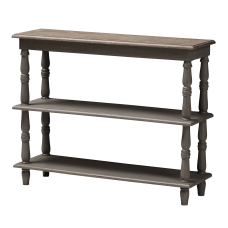 Baxton Studio Eny Console Table Brown