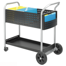 Safco Scoot Mail Cart 40 34