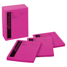 Post it Notes Printed PhoneMessage Notepads