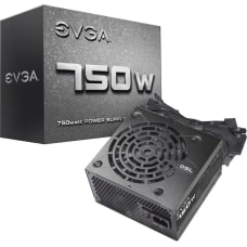 EVGA 750W Power Supply Internal 120