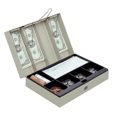 STEELMASTER Cash Box with Combination Lock