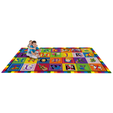 Flagship Carpets ABC Blocks Rug 10
