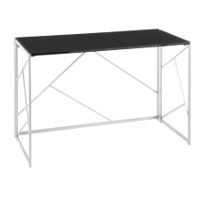 LumiSource Folia 45 W Desk SilverBlack