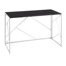 LumiSource Folia 45 W Desk SilverBlack