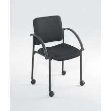 Safco Moto Mobile Stack Chairs Black