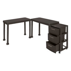 Inval Multi Desk Set With Rolling