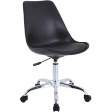 Lorell Poly Task Chair Black