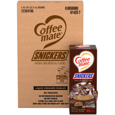 Coffee Mate Snickers Flavored Single Serve