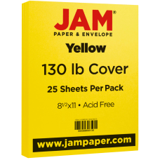 JAM Paper Cover Card Stock Letter