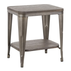 LumiSource Oregon Industrial End Table 22
