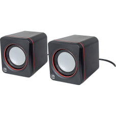 Manhattan USB Stereo Speaker System Self