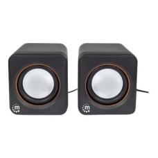 Manhattan USB Stereo Speaker System Self