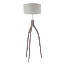 Lumisource Wishbone Contemporary Floor Lamp WoodLight